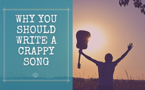 write a crappy song