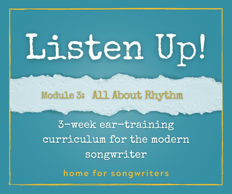 Listen Up! All About Rhythm