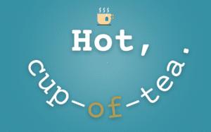 Hot, cup-of-tea