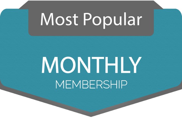 FASC Monthly Membership Most Popular