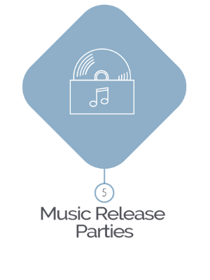 Music Release Parties